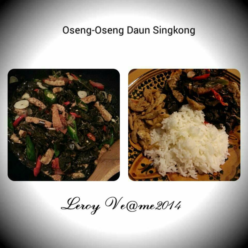 Oseng-Oseng Daun Singkong By Vetrarini Leroy