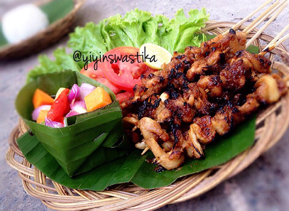 Oyster Mushroom Sate By Yiyin Swastika Langsungenak Com