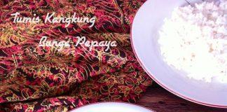 "Tumis Kangkung Bunga Pepaya ala ""Jawa"" by Lys Ty"