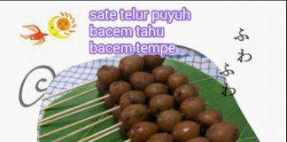 Bacem Tempe Tahu dan Telur Puyuh by Crisvi Vicko