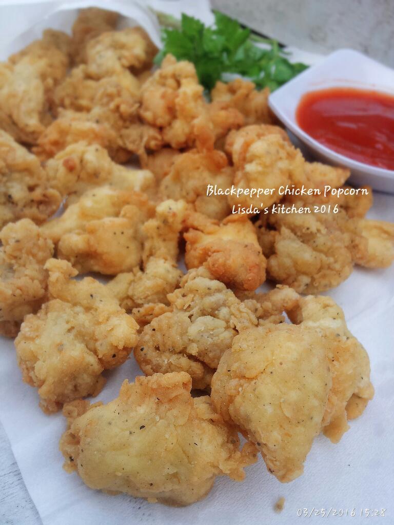 Blackpepper Chicken Popcorn by Liesda Trijianto