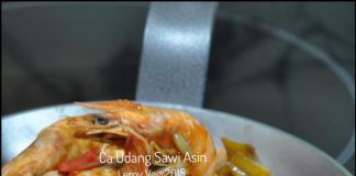 Ca Udang Sawi Asin by Leroy Vetrarini