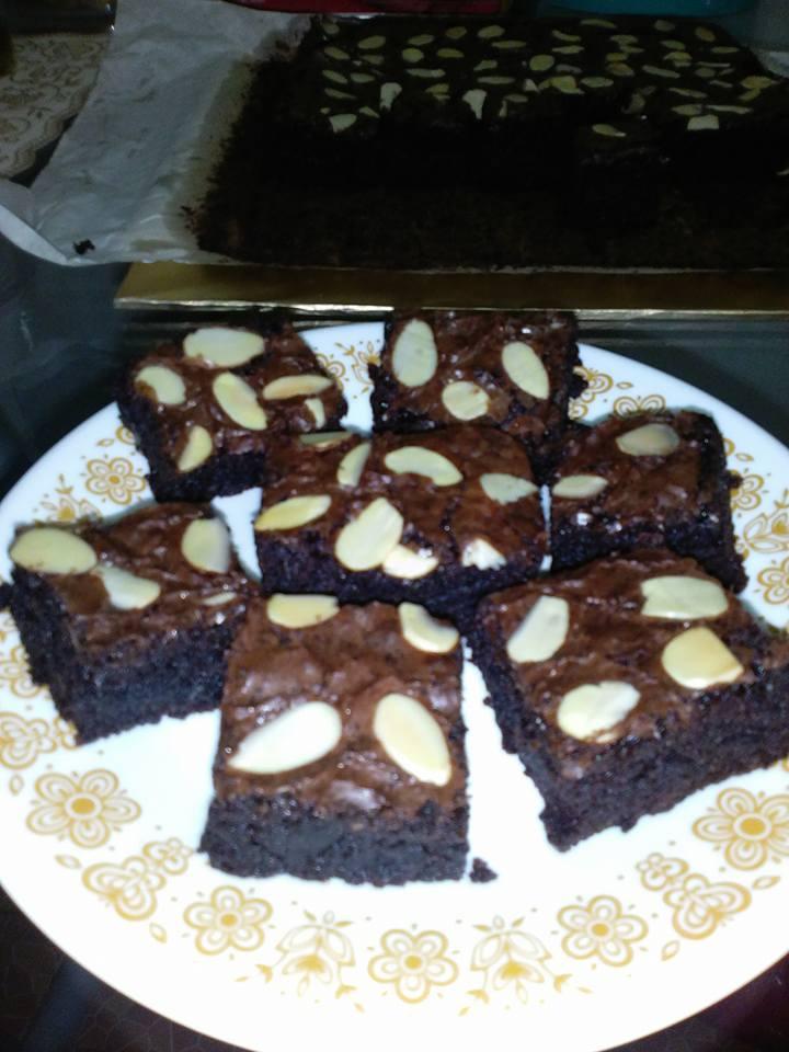 Fudgy Brownies by Isma Fauziah