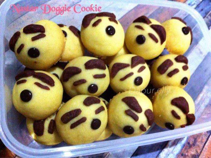Nastar Doggie Cookies (Eggless Nastar Klasik) by Elyzabet Yoed