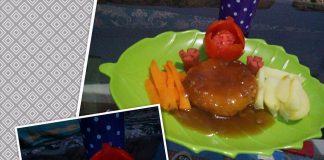 Steak Tempe Ayam by Rampoy Ria