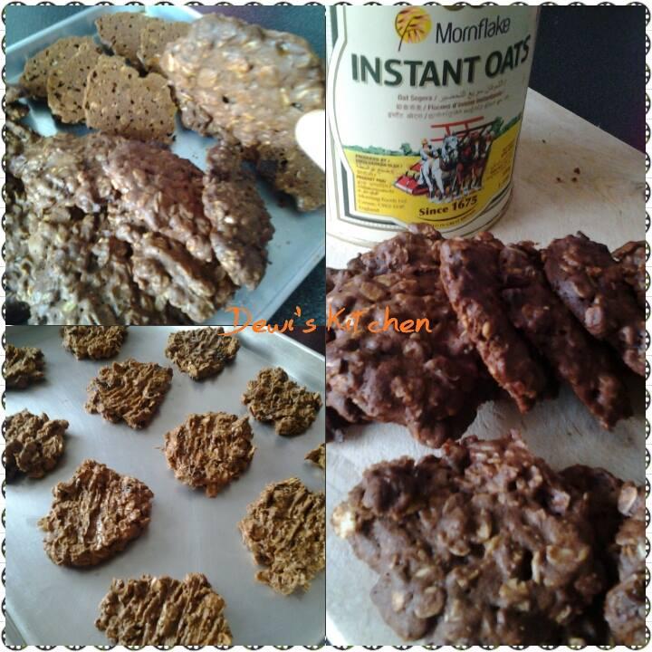 Chocolate Oat Cookies by L Komala Dewi