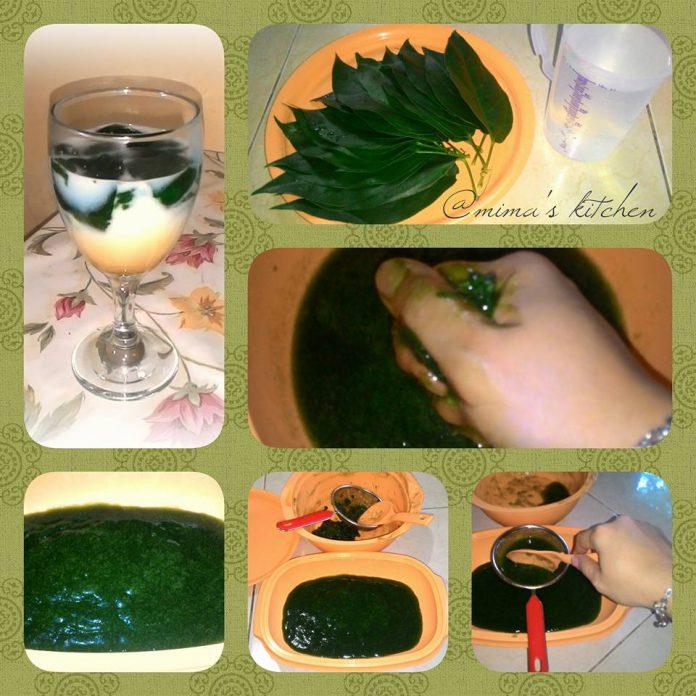 Es Cincau Hijau/ Es Cuwing by Irma Puspita