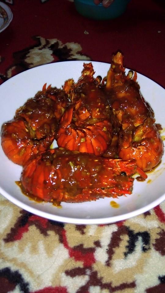 Lobster Saus Tiram Manis Pedas by Adi Asrul
