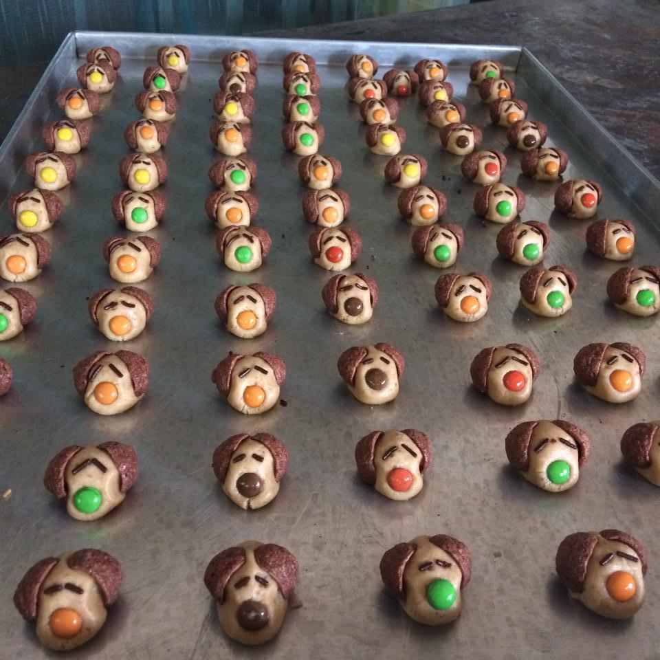 Snoopy Milo cookies by Ventia Santoso