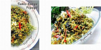 Tumis Bunga Pepaya by Restiana Krisna