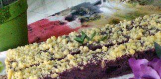 Brownies Panggang Ubi Ungu Keju by Fera Yasril