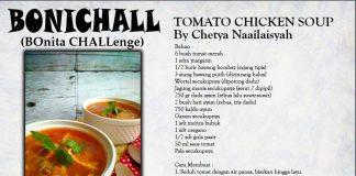 Tomato Chicken Soup By Chetya Naailaisyah