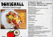 Tomato Salad Ft Garlic Bread Cheese By Fa Mella
