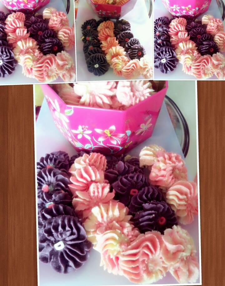 Cookies Semprit Eggless by Putri Rara