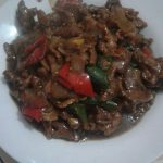 Daging Sapi Lada Hitam by Netty Rahayu