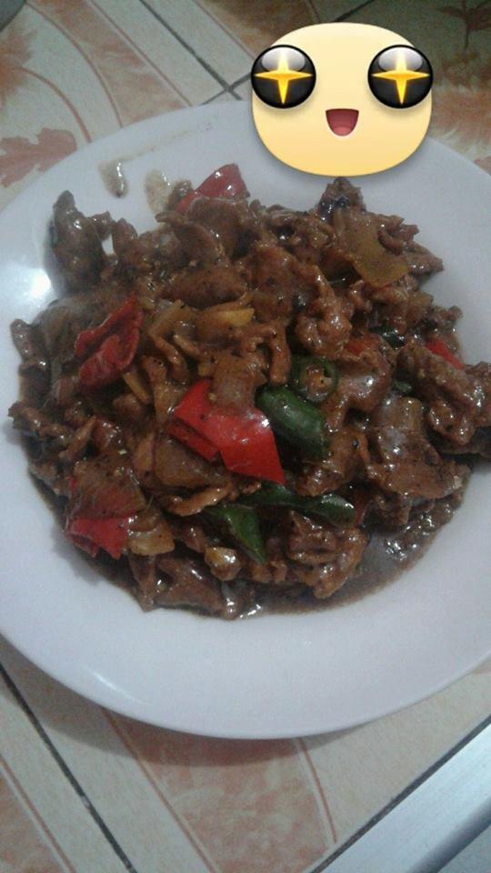 Daging Sapi Lada Hitam by Netty Rahayu