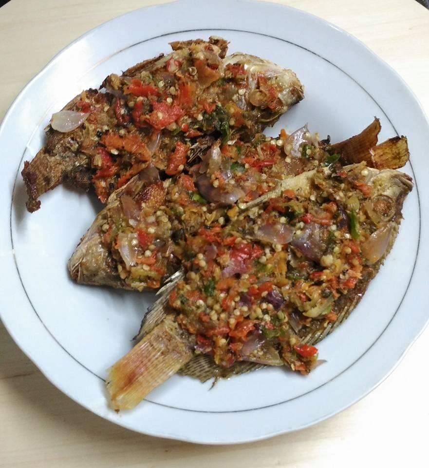 Pecak Ikan Mujair by Rini Rais