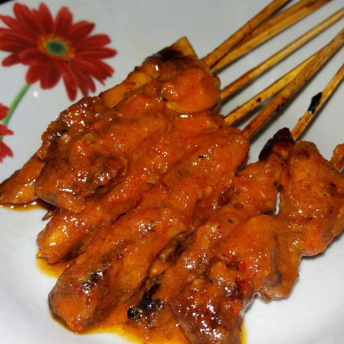 Sate Ayam Bumbu Plecing by Yustana Imawati