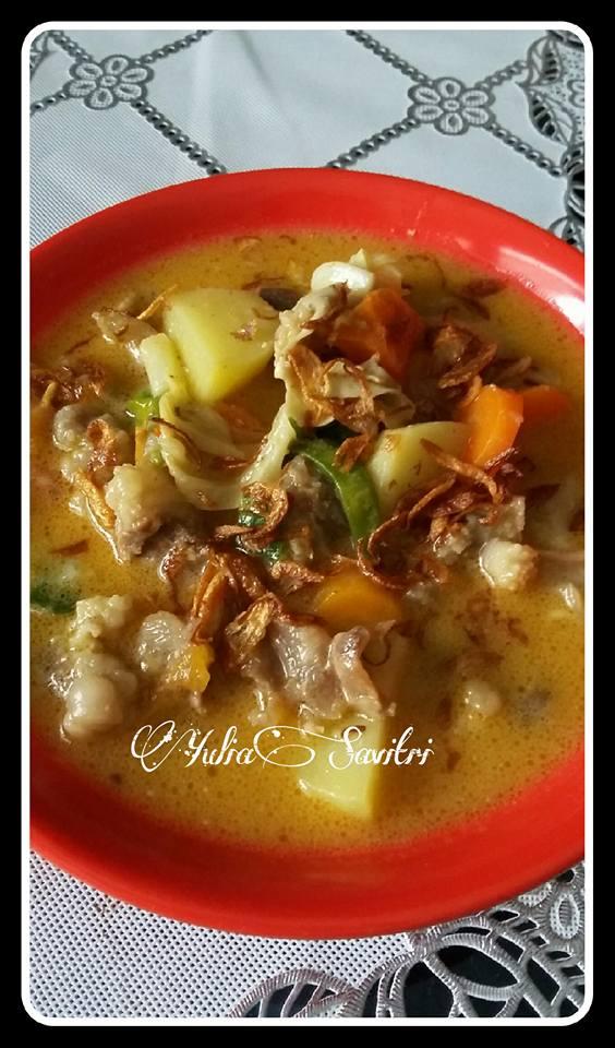 Tongseng Tetelan Daging Sapi by Yulia Syafitri