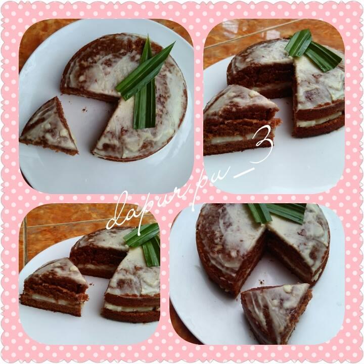 Brownies Isi Durian Imitasi by Putriie Riskiantiik