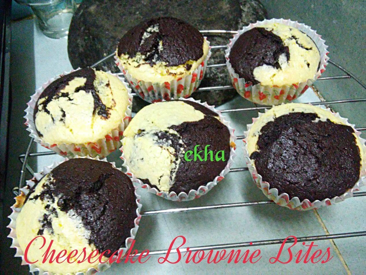 Cheesecake Brownie Bites by Ekha Fajar Kartika