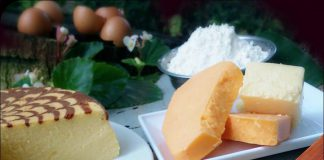 Durian Cheddar Cheesecake by Bunda Vee