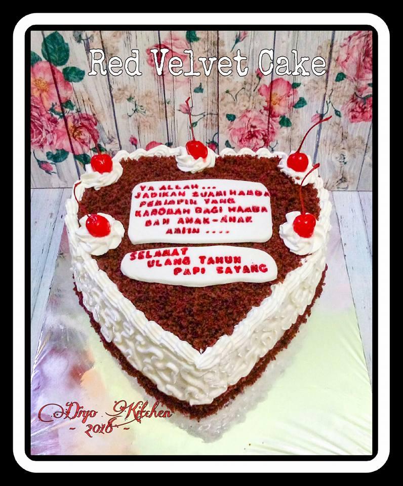 Red Velvet Cake Kukus by Aisyah Diyo