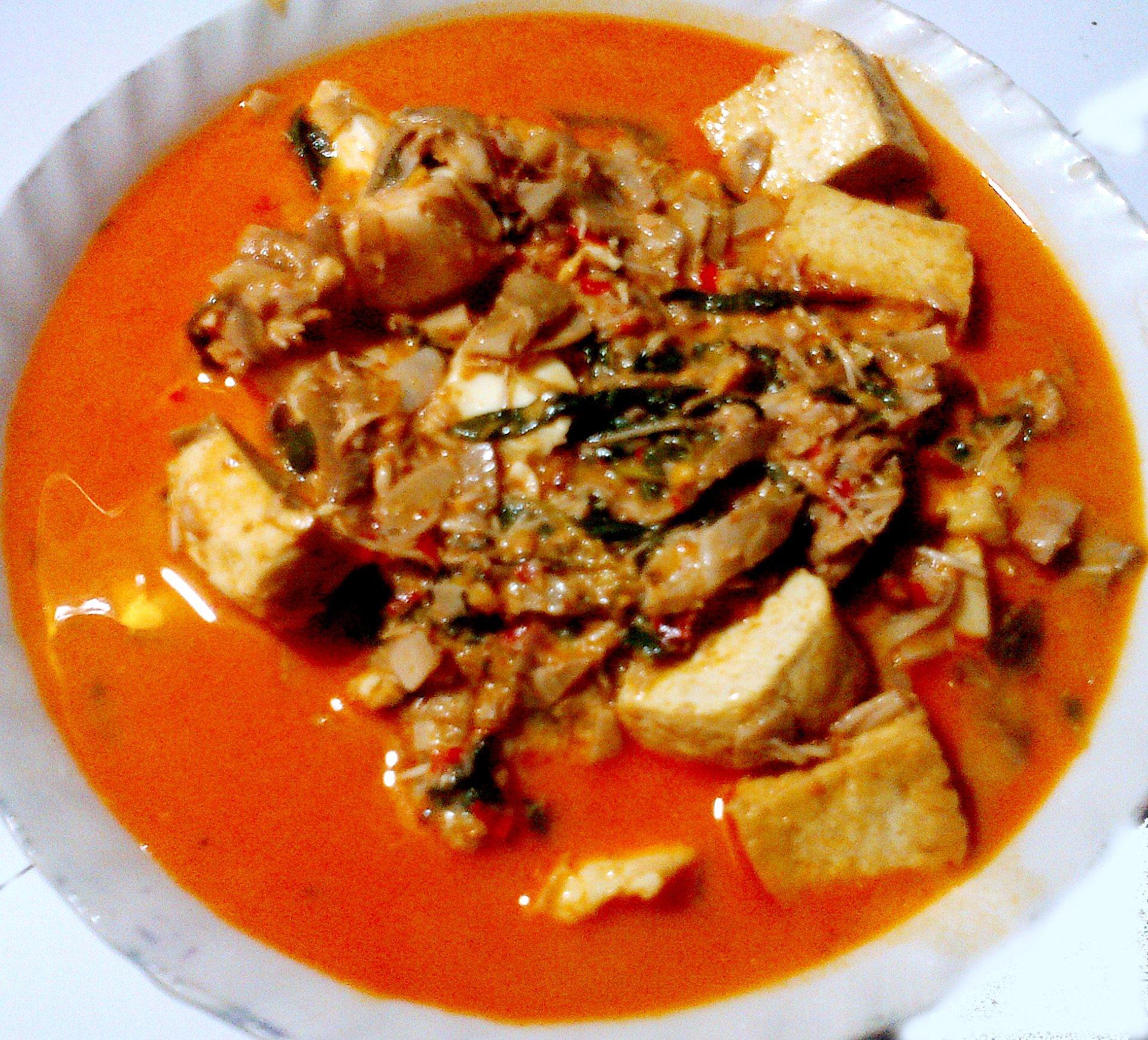 Sayur Janyung Pisang Pedas by Tan May Liang
