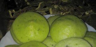 Apem Pandan Tepung Beras by Rebeca Ari Wigati
