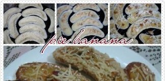 Banana Milk Pie/ Pie Susu Pisang by Beta Al Chasana