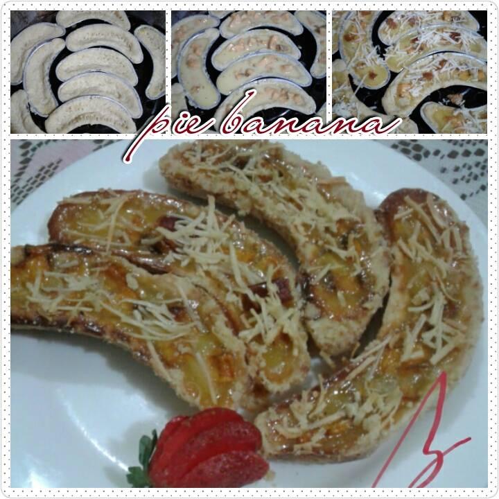 Banana Milk Pie/ Pie Susu Pisang by Beta Al Chasana