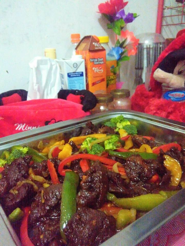 Beef Teriyaki by Yanti Wijaya
