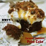 Caramel Chocolate Poke Cake by Dwi SR