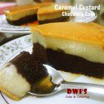 Caramel Custard Chocolate Cake by Dwi SR