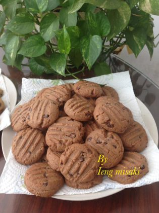 Chocolate choco Chip Cookies by Ieng Misaki