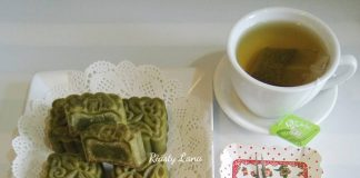 Greentea Mooncake by Riasty Lana