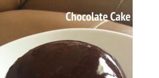 Mini Chocolate Cake Glazzy by Entin Sutini