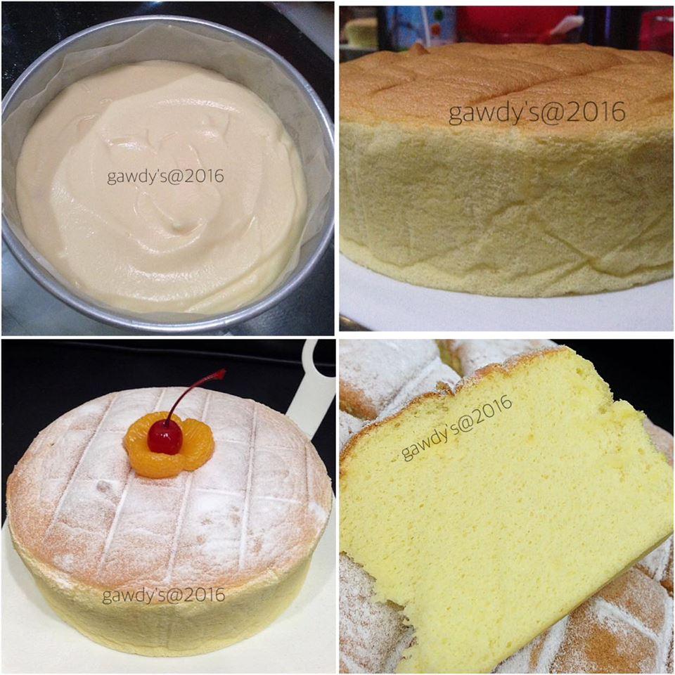 Orange Ogura Cake by Hilda Gaudensia Balanda