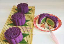 Purple Sweet Potato Mooncake by Riasty Lana