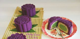 Purple Sweet Potato Mooncake by Riasty Lana