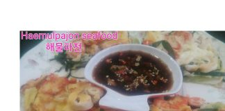 Seafood Pancake (Haemulpajon) by Dapur Yoga