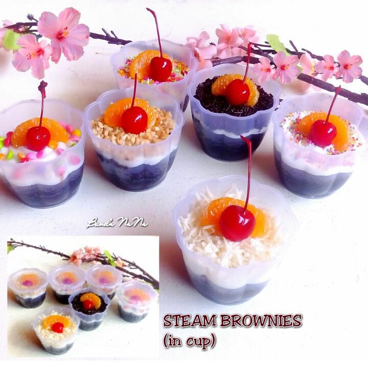 Steam Brownies (in cup) by Nana Nurjanah Tsaqieb