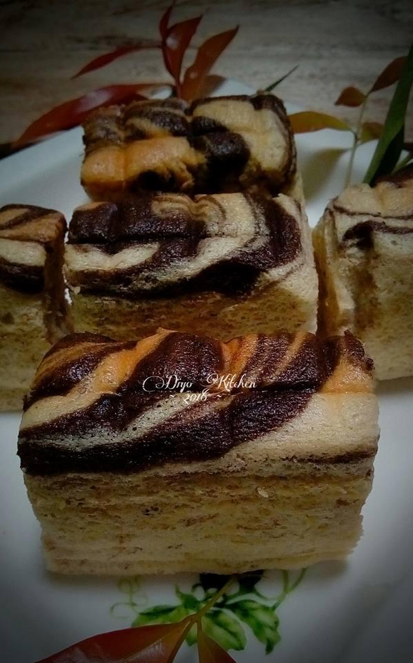Banana Ogura Cake By Diyo Kitchen
