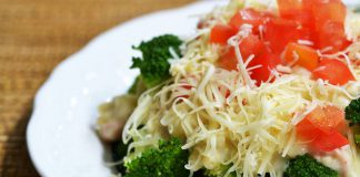 Brokoli Makaroni Saus Krim Keju by Ilalang Sukmabaskara