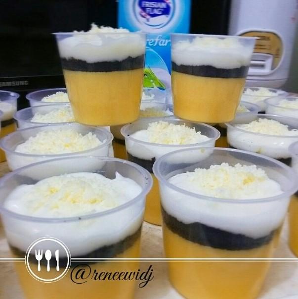 Puding Jagung Mix N' Match Oreo Cheesecake by Reneewidj