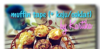 Resep Muffin Tape Keju Coklat By Tiek Metiara As'ad