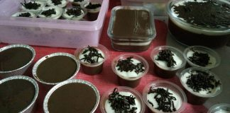 Blackforrest with Lava Puding By Renita Pebriyanti