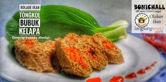 Rolade ikan Tongkol Bubuk Kelapa by Deeysty Yohana