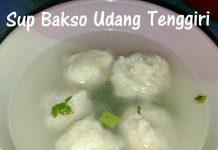 Sup Bakso Udang Tengiri by Kurnia Nuraeni