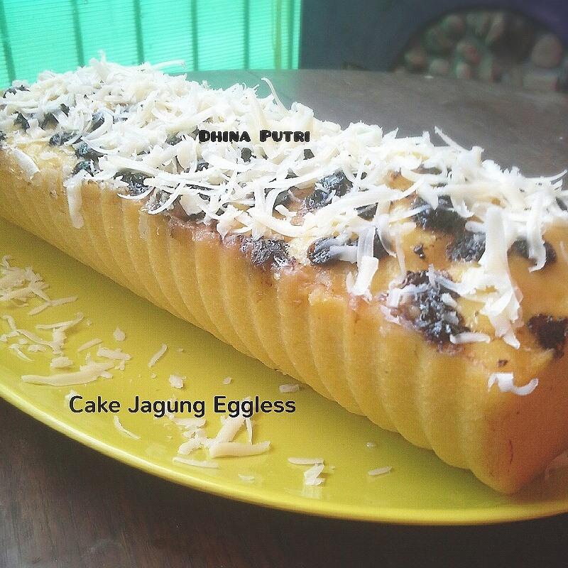 Cake Jagung Eggless by Dina Putri Hanifah